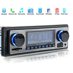 Bluetooth-vintage-car-radio-MP3-player-stereo-usb-aux-classic-car-stereo-audioYE
