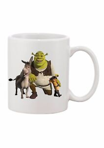 Details about PERSONALISED MUG * ANY NAME TEXT * CHRISTMAS* GIFT birthday*  SHREK GANG