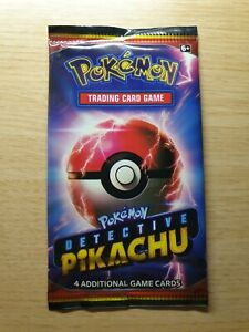 Pokemon-Detective-Pikachu-Booster-Pack-New-Sealed-Packs