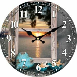 Silent Wall Clock Watch For Living Kitchen Bath Home Decor Art Vintage Night New