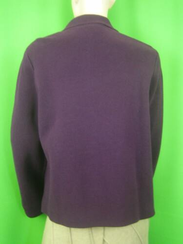 Pm Jacket Tricot Lilac Talbots New Cotton qEIXIwY