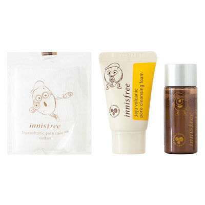 [INNISFREE] Jeju Volcanic Pore Care Kit [Sample Kit] - BEST Korea Cosmetic