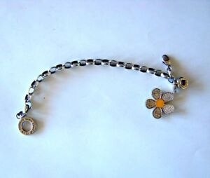 BRACELET-BAND-THOMA-SABO-CLUB-BIG-CHARMS-FLOWER-OF-LOVE-SOLID-SILVER