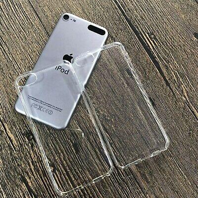 IPod Touch 5th 6th Gen 16 32 64 128 GB Clear TPU Plain Rubber Skin Case Cover