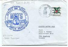 1965 USNS Redbud T-AKL 398 MSTS Sonore Stromfjord Army Air Polar Antarctic Cover