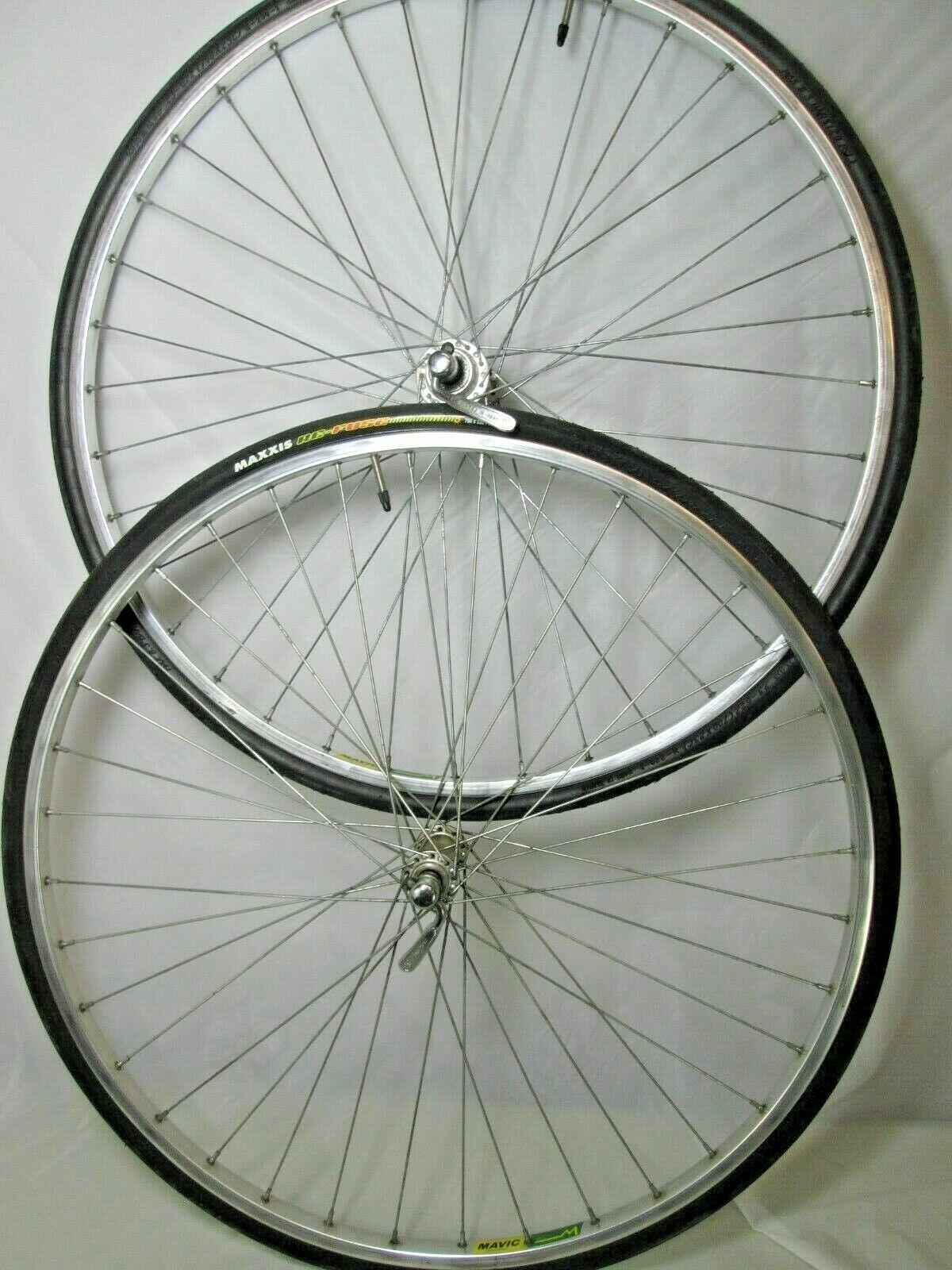 Mallard 36 hole  MAVIC MA 2 ROAD BICYCLE 700c WHEELSET   Wheel Rim Set   Tires