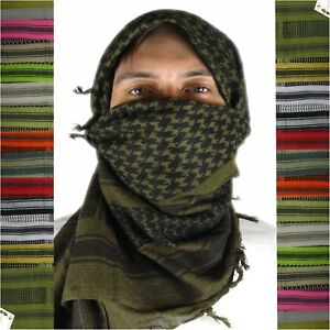 Mato /& Hash Military Shemagh Tactical 100/% Cotton Scarf Head Wrap Digital