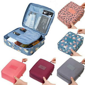 95f2c4c48ece Women Wash Bag Toiletry Cosmetic Travel Make Up Pack Hanging Folding ...