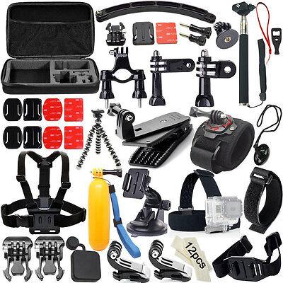 50 In 1 Accessory Kit For GOPRO hero4 3+ 2 1 SJ4000 SJ5000 SJ6000 SUPTig Sports