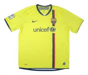 Barcelona 2008-10 Autentico Away Shirt (Fair) XL soccer jersey