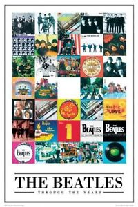 The-Beatles-Through-The-Years-New-Poster-61-x-91-5cm-LP0594-185
