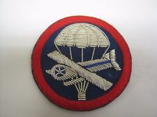 AIRBORNE BULLION GARRISON CAP PATCH - Repro Military  US  Glider