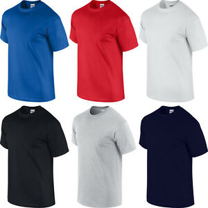 GILDAN-BIG-MENS-100-COTTON-T-SHIRT-XL-2XL-3XL-4XL-5XL