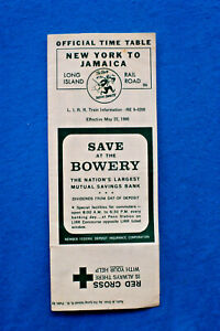 Long-Island-Railroad-New-York-to-Jamaica-Pocket-Timetable-5-22-66
