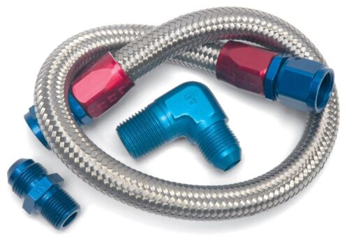 "Russell 8122 Fuel Line Kit  Braided Fuel Line Kit 22/"""