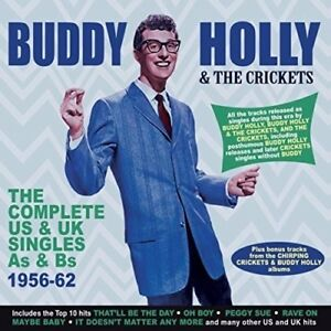 BUDDY-HOLLY-THE-COMPLETE-US-amp-UK-SINGLES-1956-62-2-CD-NEW