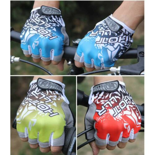 Workout Exercise Bike Cycling GYM Training Fitness Sports Half Finger Gloves