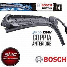 2 Spazzole tergicristallo BOSCH AEROTWIN BMW X5 E70 DAL 2007 ANTERIORI