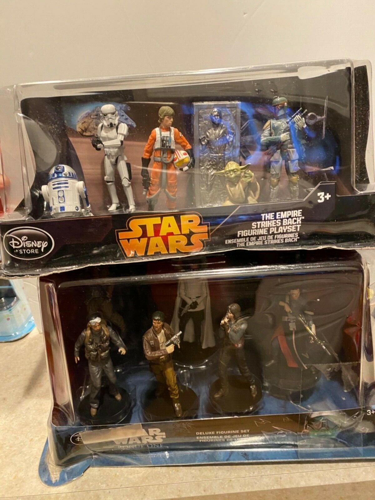Figurine StarWars : STAR WARS Empire strikes ROGUE ONE - DISNEY STORE DELUXE FIGURINE SET NEW SEALED
