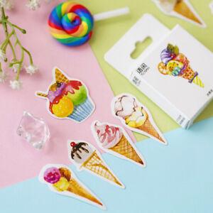 50pcs-Box-Ice-Cream-Paper-Seal-Stickers-Scrapbooking-DIY-Diary-Album-Label