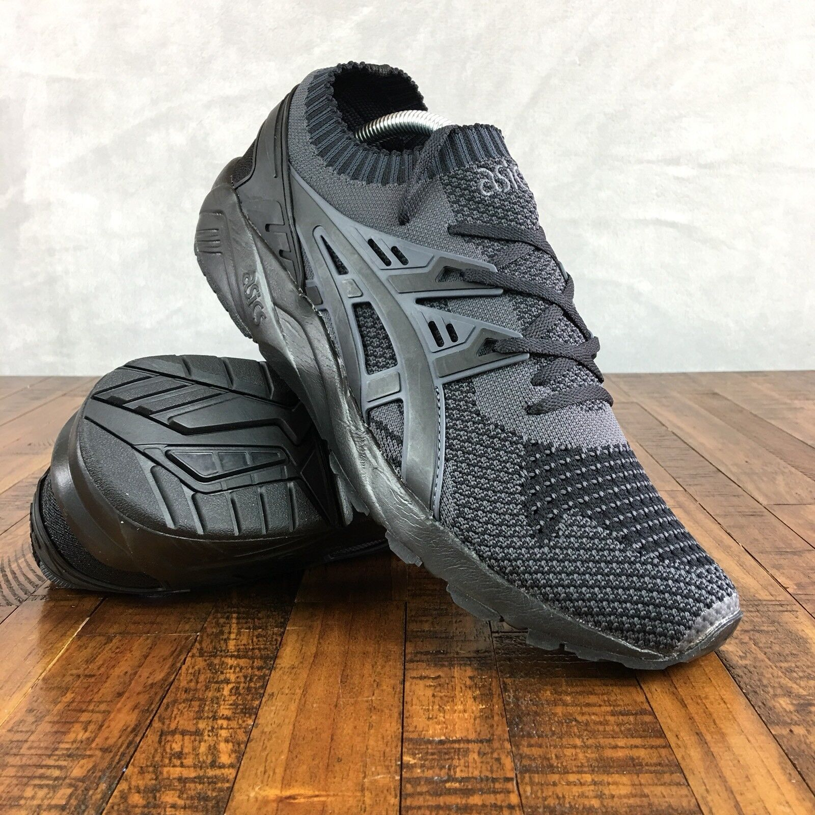 Running Knit Asics Gel Kayano entrenador Knit Running Plata Blanco e0f5be