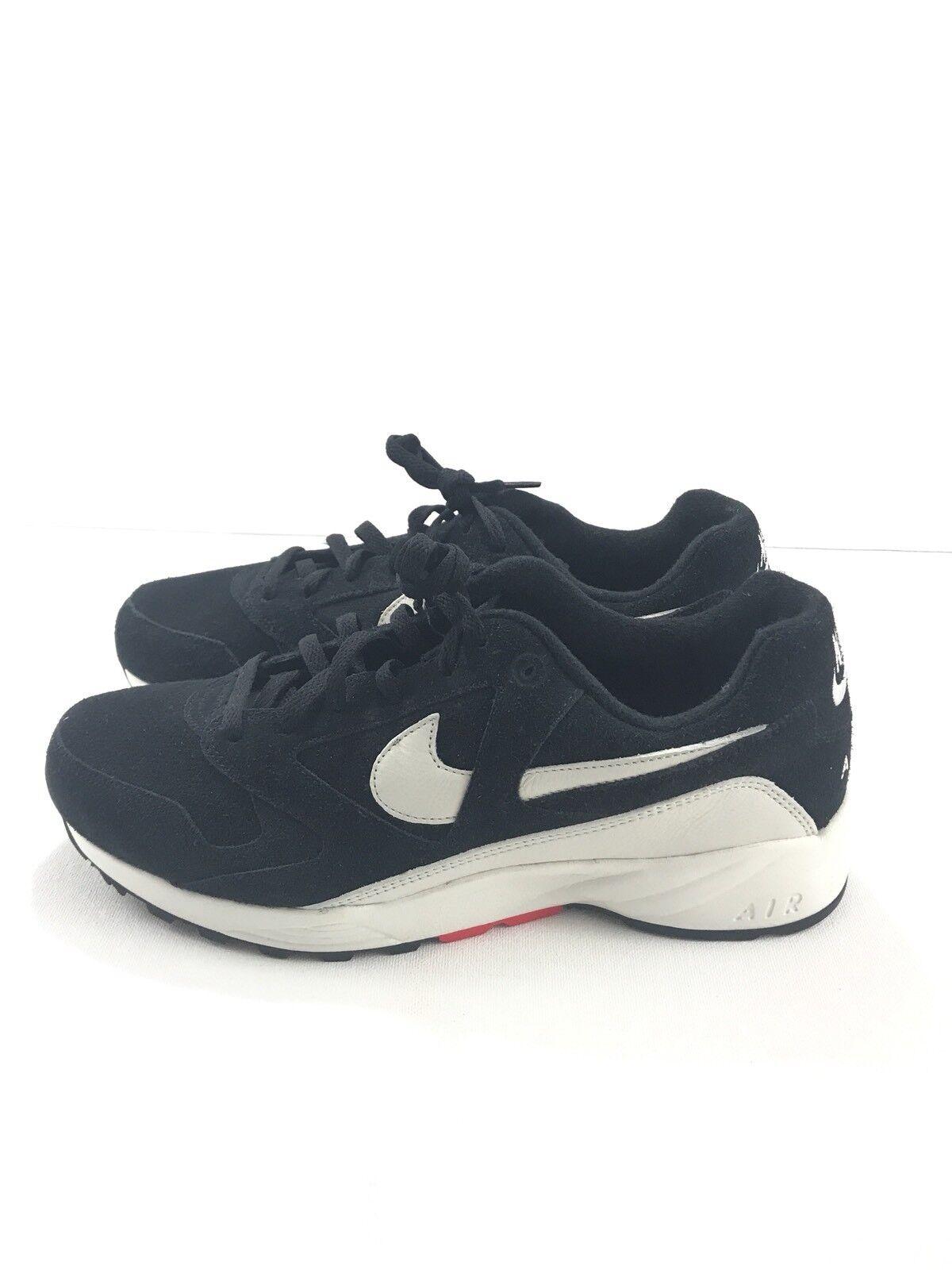 Nike air icarus in qs vela nera scarpe bianche dimensioni