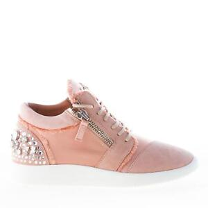 6f2ea9a4c6b3f Image is loading GIUSEPPE-ZANOTTI-DESIGN-women-shoes-Singleg-pink-suede-