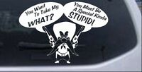 Yosemite Sam Anti Gun Control Pro Gun Car Or Truck Window Laptop Decal Sticker