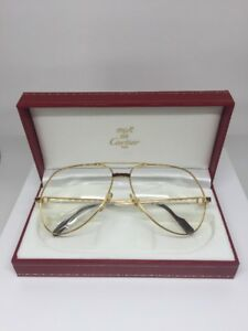 50f66f76888 Image is loading New-Vintage-Cartier-Vendome-Laque-Bordeaux-Large-Aviator-