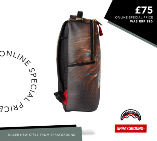 SPRAYGROUND A1 CEO LION BROWN BACKPACK ** RRP £80.00 **