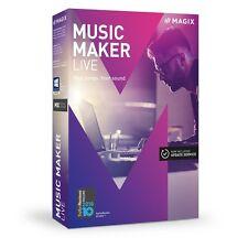 MAGIX Music Maker Live Software (Download)