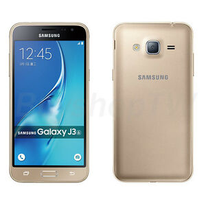 Samsung Galaxy J3 Dual SIM 4G LTE Unlocked 8GB 5in Gold