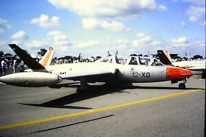 2-99-2-Fouga-CM-170R-Magister-French-Air-Force-12-X0-213-Kodachrome-SLIDE