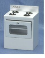 Classics Dollhouse Miniatures 1:12 Scale White Modern Oven Stove