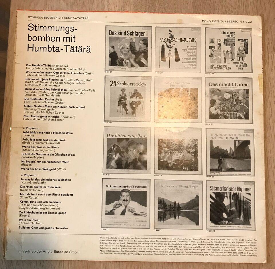 LP, Stimmungsbomben, Mit Humbta-tätärä