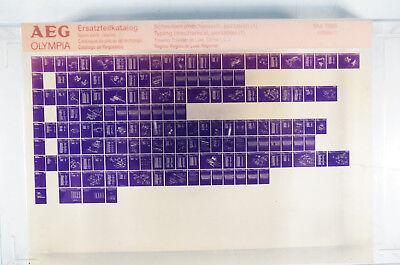 Aeg Olympia Ersatzteilkatalog Schreiben Mechanisch 1 Microfiche Jahr 1988 K171 Kaufe Jetzt