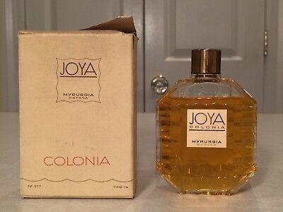De Colección Nuevo En Caja JOYA Colonia Myrurgia Eau de Cologne 3.5 oz105 Ml España | eBay