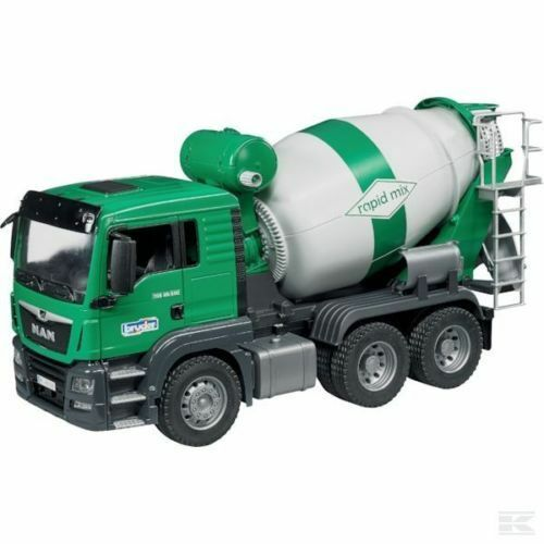 New Bruder Toys MAN TGS Cement Mixer Bruder 03710 Scale 1 16