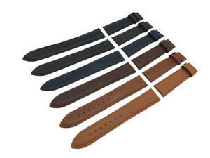 Black-Brown-Blue-Genuine-Leather-Strap-Band-fit-Tudor-watch-Clasp-18-19-20-22mm