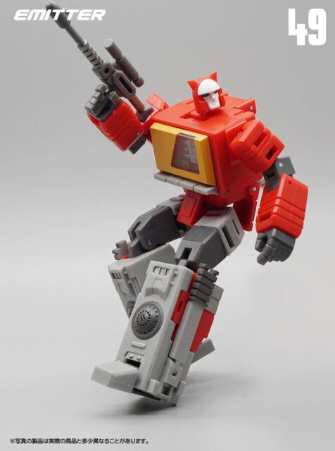 MFT MF49 G1 Blaster Emitter Transformers Mini Action Figure Kid Toy NEW In Stock