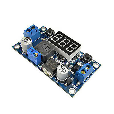 1x LM2596S DC-DC step-down module buck adjustable Power Supply Converter module