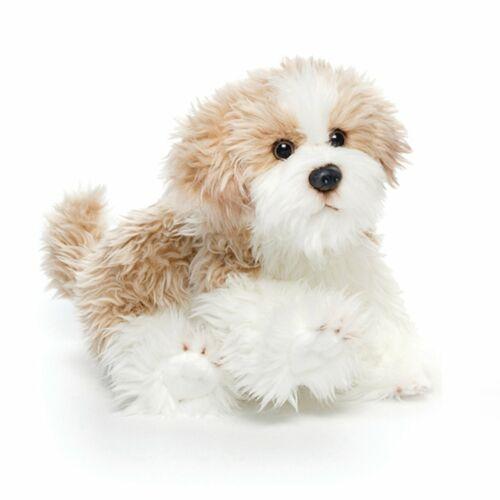 DEMDACO Nat /& Jules Sitting Small Maltipoo Dog Childrens Plush Stuffed Animal