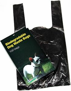 Image Is Loading 500 Dog Pet Waste Bags With Handles