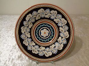 Ceramica-Placa-Decorativa-de-Pared-Parikrupa-Artesania-Firmado-Eslovaquia
