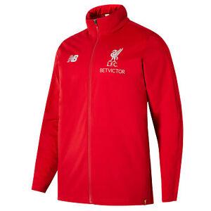 Liverpool Elite Training Präzision Regen Jacke Rot Herren Fußball Wasserdicht