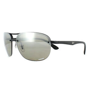 042158d054f Image is loading Ray-Ban-Sunglasses-RB4275CH-601S5J-Black-Silver-Mirror-
