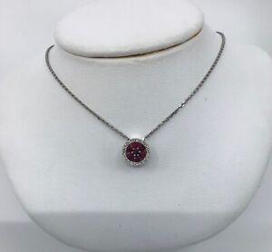 14k-White-Gold-Ruby-amp-Diamond-Pendant-Necklace