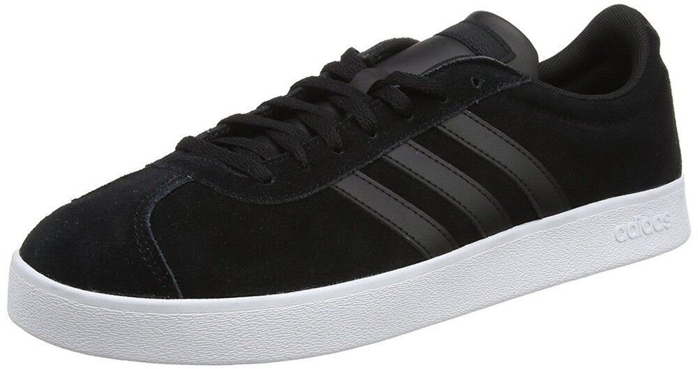 Adidas VL Court 2.0 Mens shoes Sneakers Black DA9865