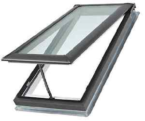 vs c08 2004fs01 velux venting deck mount laminated w pre installed solar blind ebay. Black Bedroom Furniture Sets. Home Design Ideas