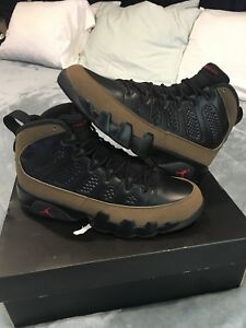 outlet store 9ab8a fece7 Details about Nike Air Jordan 9 Olive 2012 Sz 8 Bred Infrared 1 2 3 4 5 6 7  10 11 12 13 14 15